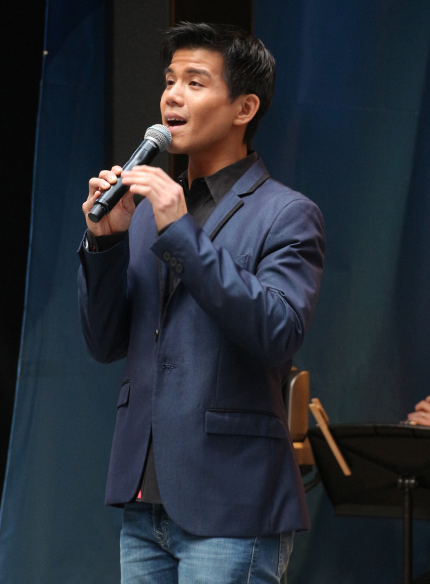 <p>Telly Leung sings &quot&#x3B;Proud of Your Boy&quot&#x3B; from <em>Aladdin</em>.</p><br />(© David Gordon)