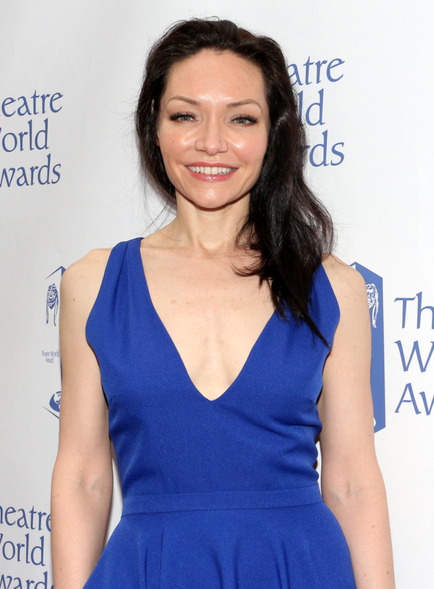 <p>Katrina Lenk, Dorothy Loudon Award for Excellence recipient for <em>Indecent</em> and <em>The Band&#39&#x3B;s Visit</em>.</p><br />(© David Gordon)