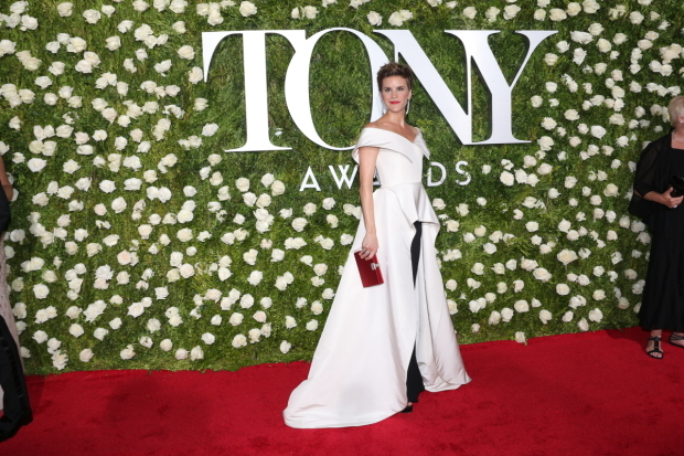 <p>Jenn Colella, Best Featured Actress in a Musical nominee for <em>Come From Away</em>.</p><br />(© David Gordon)