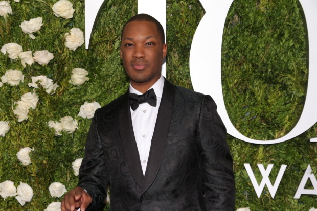 <p>Corey Hawkins, Best Leading Actor in a Play nominee for <em>Six Degrees of Separation</em>.</p><br />(© David Gordon)