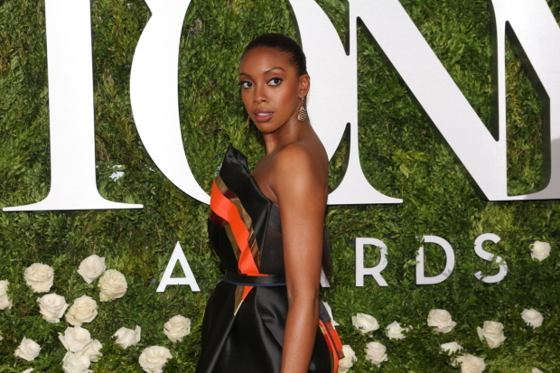 <p>Condola Rashad, Best Featured Actress in a Play nominee for <em>A Doll&#39&#x3B;s House, Part 2</em>.</p><br />(© David Gordon)