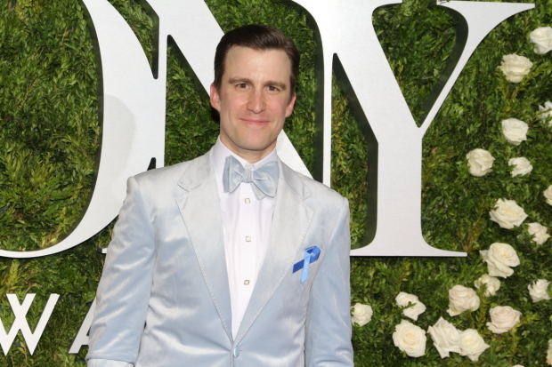 <p>Gavin Creel, Best Featured Actor in a Musical nominee for <em>Hello, Dolly!</em></p><br />(© David Gordon)