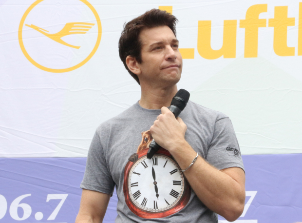 <p>Andy Karl represents <em>Groundhog Day</em> on stage.</p><br />(© David Gordon)