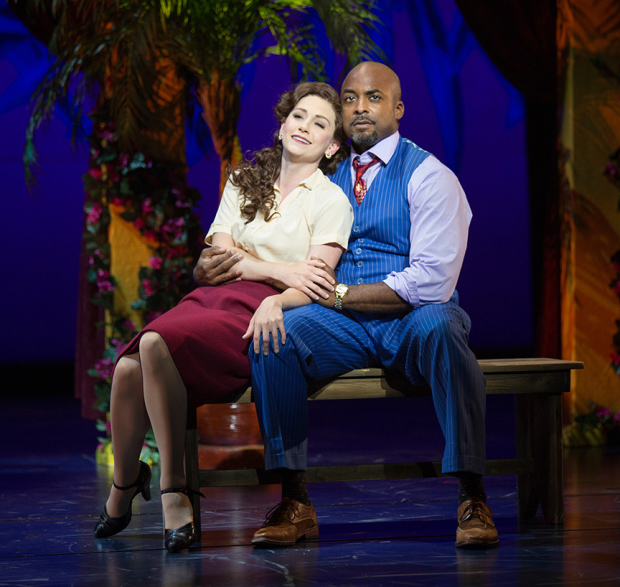 <p>Audrey Cardwell shares a sweet moment with Terence Archie.</p><br />(© Jim Cox)