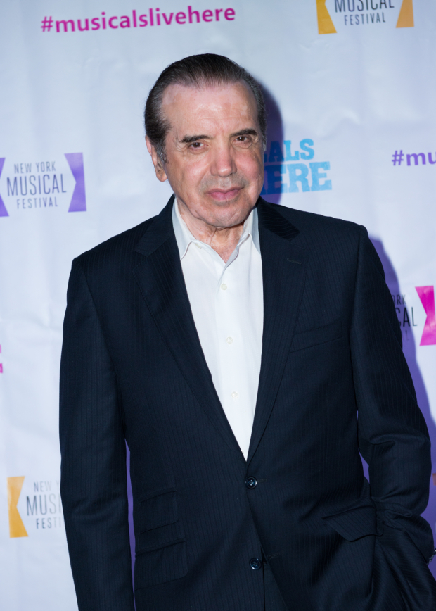 <p>Chazz Palminteri wrote the book for the currently running musical <em>A Bronx Tale</em>, adapted from his solo play.</p><br />(© Allison Stock)