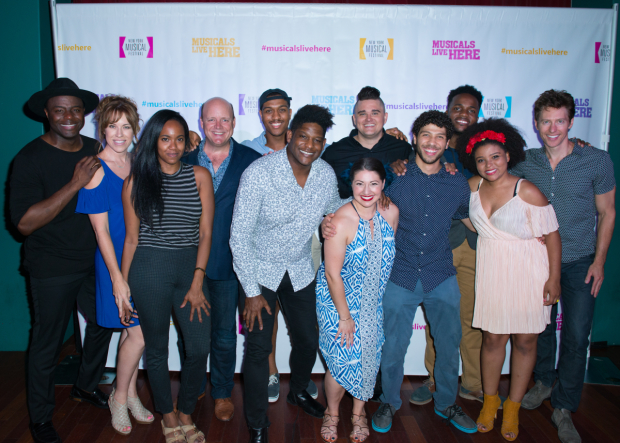<p>The company of <em>Freedom Riders</em> begin performances August 1.</p><br />(© Allison Stock)