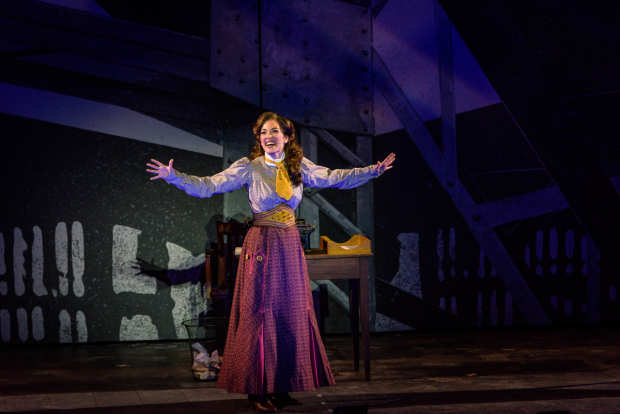 <p>Tessa Grady stars as Katherine Plumber.</p><br />(photo provided by the production)