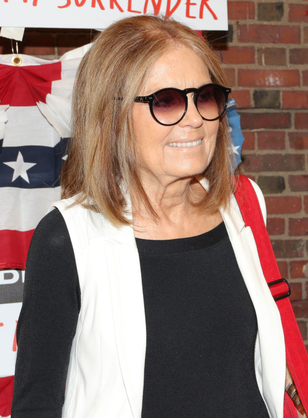 <p>Gloria Steinem was the opening-night special guest.</p><br />(© David Gordon)