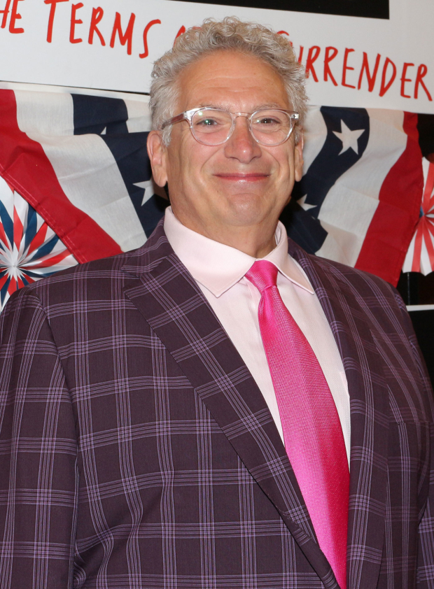 <p>What would an opening be without Harvey Fierstein?</p><br />(© David Gordon)