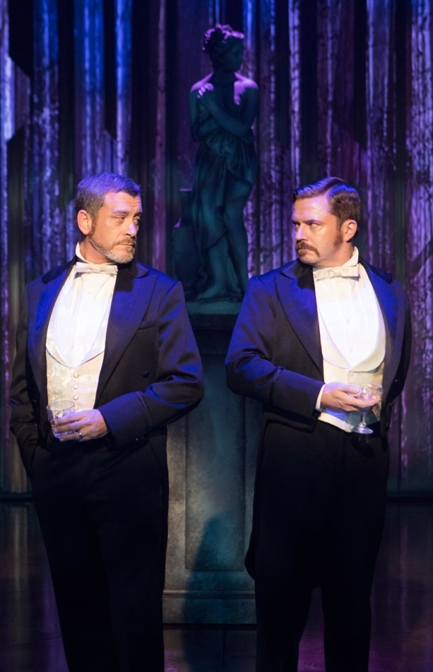 <p>Bobby Smith stars as Frederik Egerman opposite Will Gartshore as Carl-Magnus Malcolm.</p><br />(© Christopher Mueller)