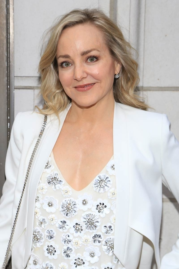 <p>Tony nominee Geneva Carr walked the red carpet.</p><br />(© Tricia Baron)