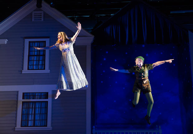 <p><em>For Peter Pan on Her 70th Birthday</em> takes flight September 13.</p><br />(© Joan Marcus)