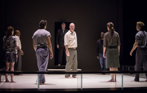 <p>The company of <em>A View From the Bridge</em>.</p><br />(photo provided by the production)