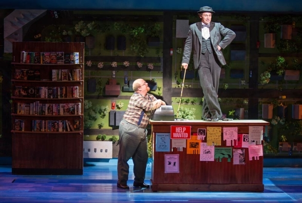 <p>Jason SweetTooth Williams and Bryce Pinkham share a scene.</p><br />(© Jim Crox)