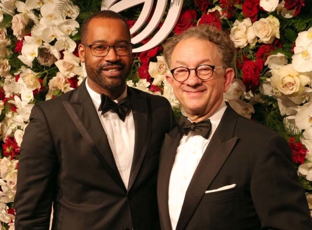 <p>Costume-design greats Emilio Sosa and William Ivey Long got together for a photo.</p><br />(© David Gordon)