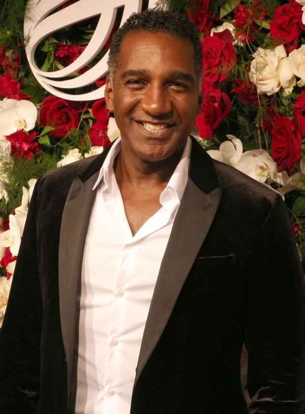 <p>Tony nominee Norm Lewis smiled for the camera.</p><br />(© David Gordon)