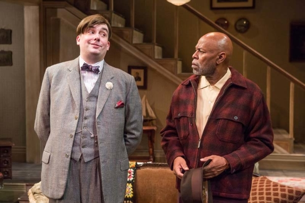 <p>A scene between Ian Gould and Marvin Bell.</p><br />(© Jeremy Daniel)