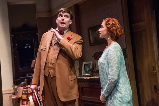 <p>Ian Gould and Emma Orelove share the stage.</p><br />(© Jeremy Daniel)