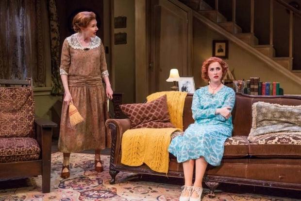 <p>Annette O&#39&#x3B;Toole and Emma Orelove share a scene in <em>The Show-Off</em>.</p><br />(© Jeremy Daniel)