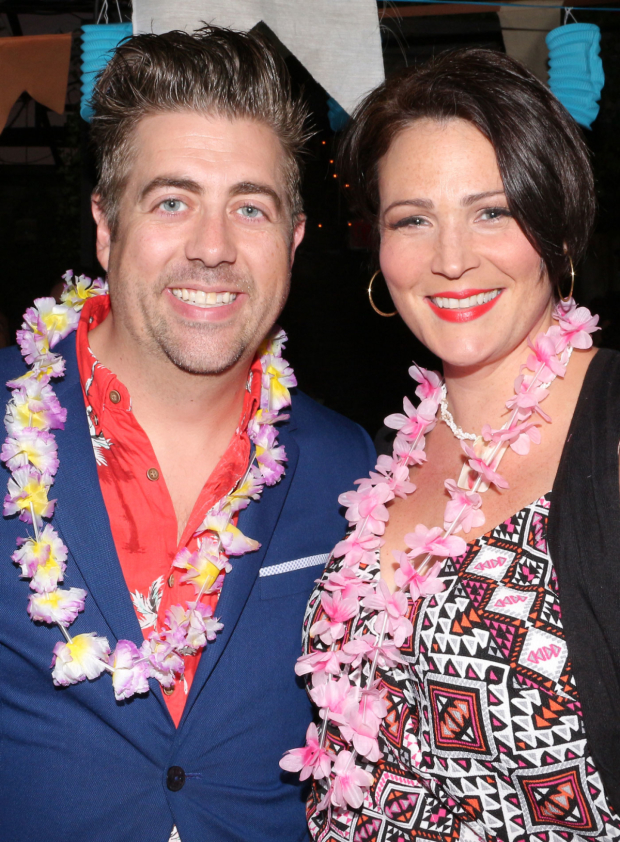 <p>Eric Petersen and Lisa Howard take on the roles of Brick and Tammy.</p><br />(© David Gordon)