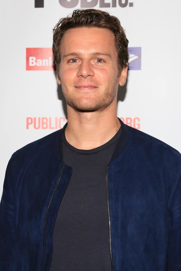 <p>A regular at the Public, Jonathan Groff made sure to catch the show.</p><br />(© Tricia Baron)