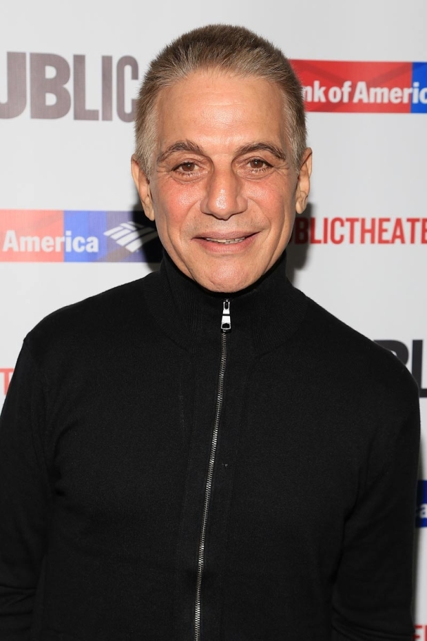 <p>Tony Danza stopped for a photo on his way into the performance.</p><br />(© Tricia Baron)