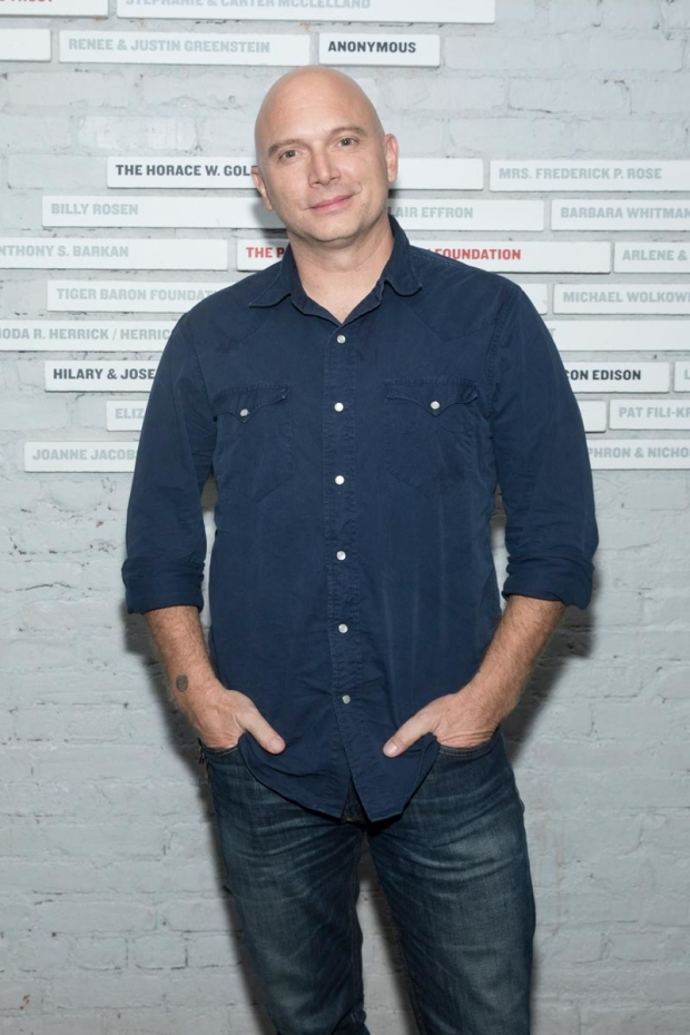 <p>Two-time Tony winner Michael Cerveris was excited to see the show.</p><br />(© Simon Luethi)