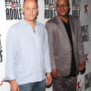 PHOTO FLASH: David Blaine, Tony Danza, Steve Guttenberg, Woody Harrelson at Bullet for Adolf Opening