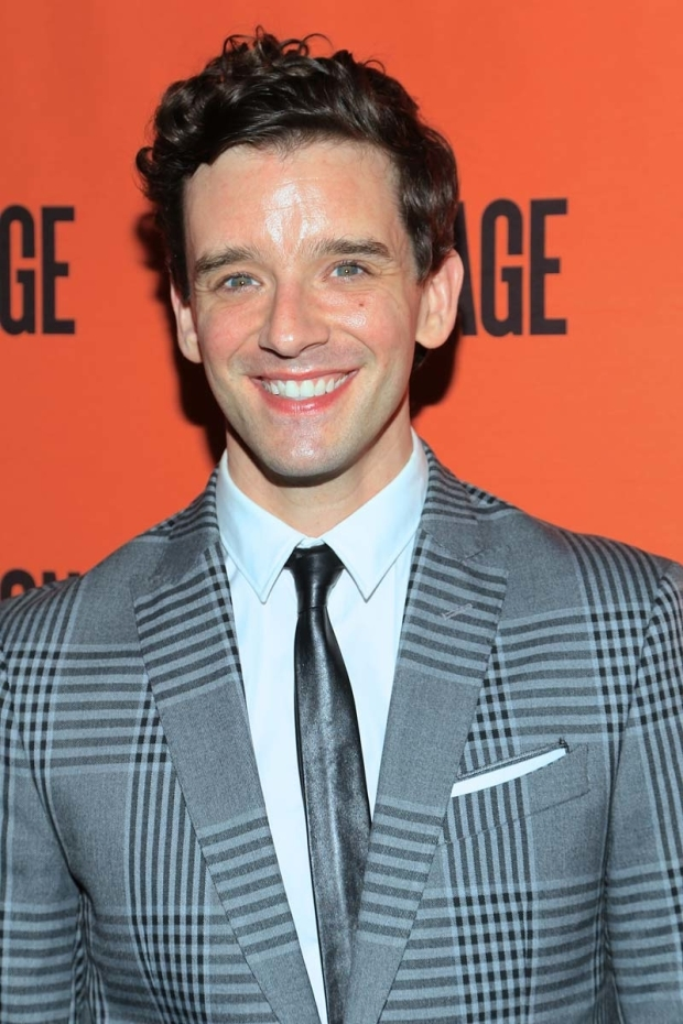 <p>Michael Urie stars as Arnold.</p><br />(© Tricia Baron)