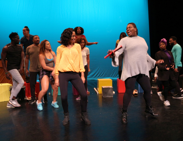 <p>Hailey Kilgore and Alex Newell lead &quot&#x3B;Mama Will Provide.&quot&#x3B;</p><br />(© David Gordon)