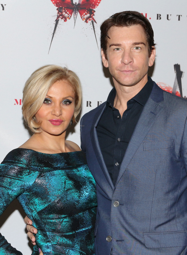 <p>Orfeh and Andy Karl are on hand for the performance.</p><br />(© David Gordon)