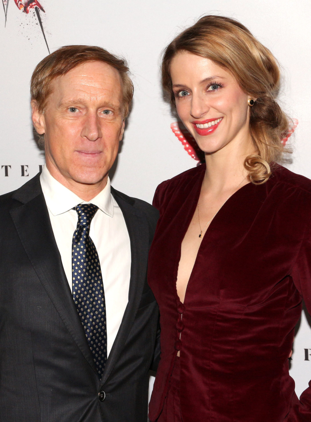 <p>John Leonard Thompson and Erica Sweany are two of the production&#39&#x3B;s understudies.</p><br />(© David Gordon)