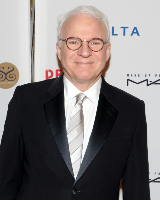 <p>Steve Martin was the honoree at the 2017 Drama League Gala.</p><br />(© David Gordon)
