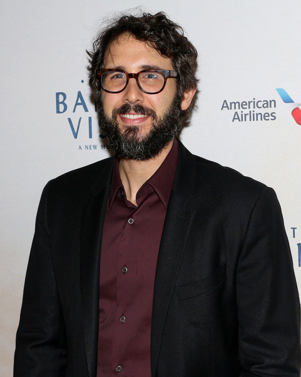 <p>Josh Groban checks out the opening of <em>The Band&#39&#x3B;s Visit</em>.</p><br />(© David Gordon)