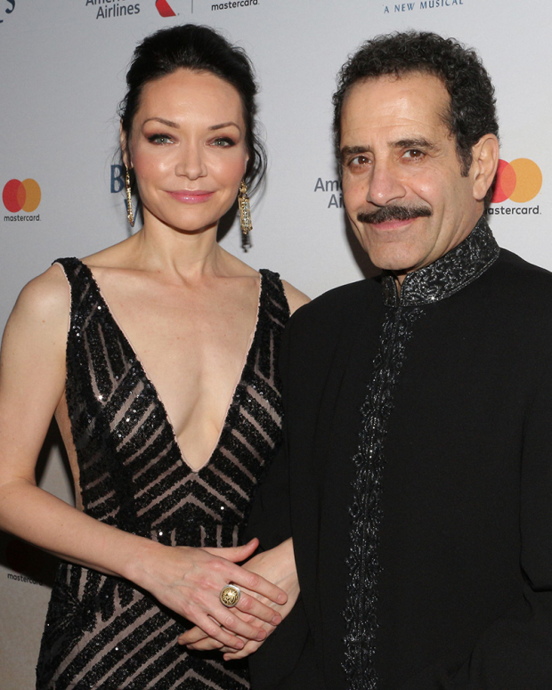 <p>Katrina Lenk and Tony Shalhoub head the cast of <em>The Band&#39&#x3B;s Visit</em> as Dina and Tewfiq.</p><br />(© David Gordon)