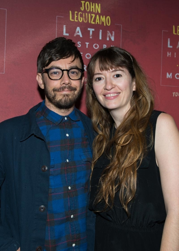 <p>The Lonely Island&#39&#x3B;s Jorma Taccone and actress Marielle Heller took in the show.</p><br />(© Allison Stock)