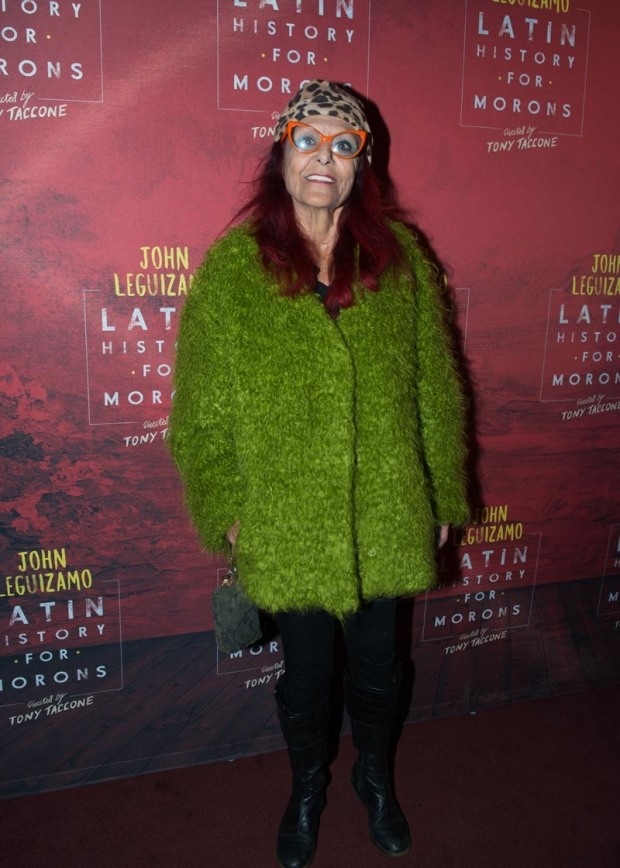 <p><em>Sex and the City</em> costume designer Patricia Field walked the red carpet.</p><br />(© Allison Stock)