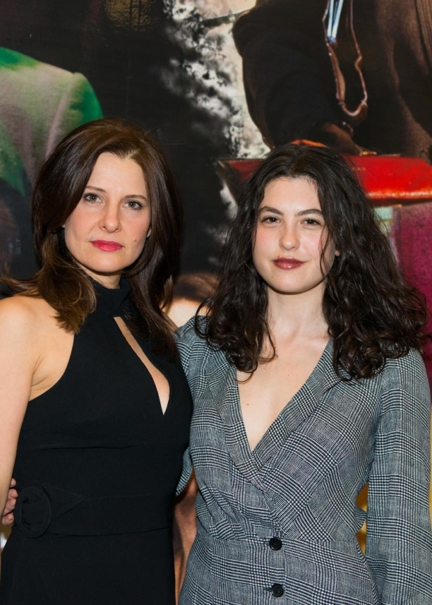 <p>Original off-Broadway stars Mia Barron and Tedra Millan return to the Lincoln Center engagement.</p><br />(© Allison Stock)