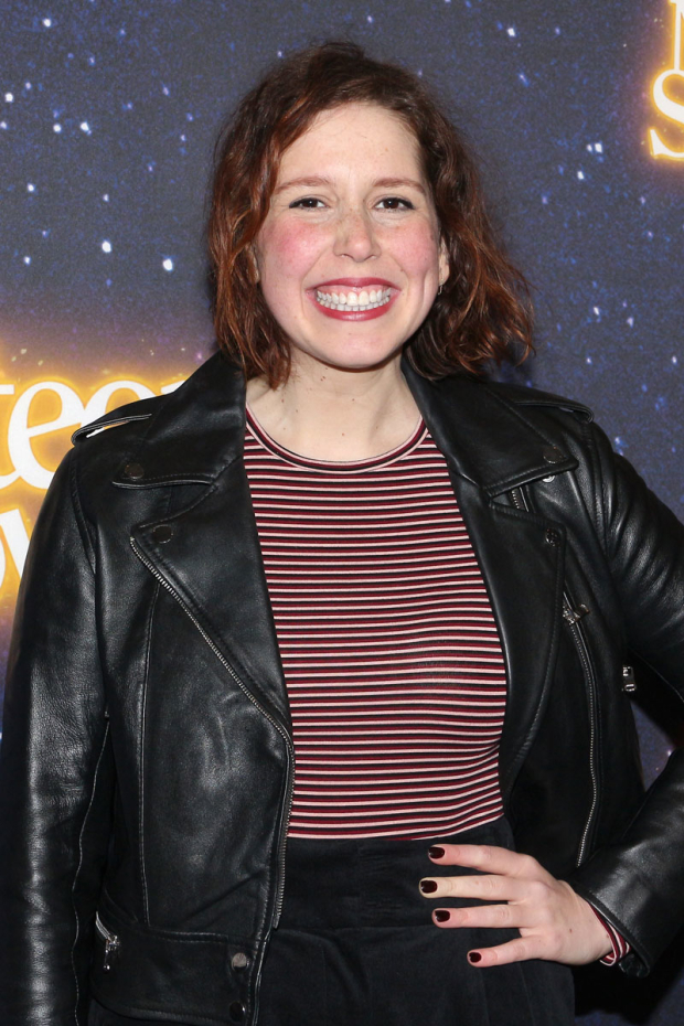<p>Vanessa Bayer is excited to see <em>Meteor Shower</em>.</p><br />(© David Gordon)