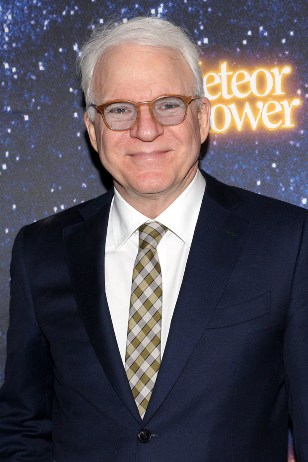 <p><em>Meteor Shower</em> is written by Steve Martin.</p><br />(© David Gordon)