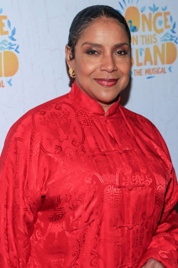 <p>Phylicia Rashad looked radiant on opening night.</p><br />(© Tricia Baron)
