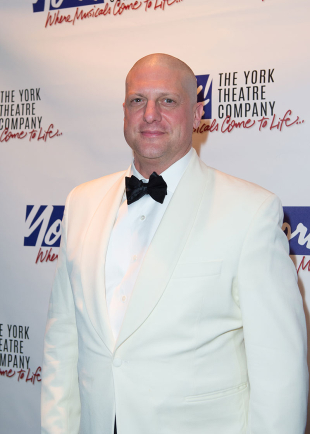 <p>Christopher Sieber, freshly bald for <em>Annie</em> at Paper Mill Playhouse, performed.</p><br />(© Allison Stock)