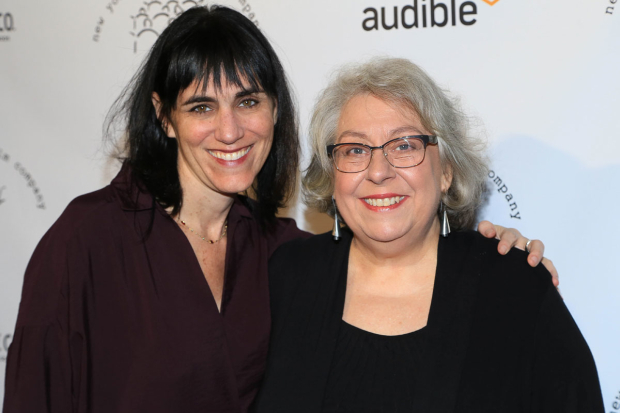 <p>Leigh Silverman and Jayne Houdyshell got together for a photo.</p><br />(© Tricia Baron)
