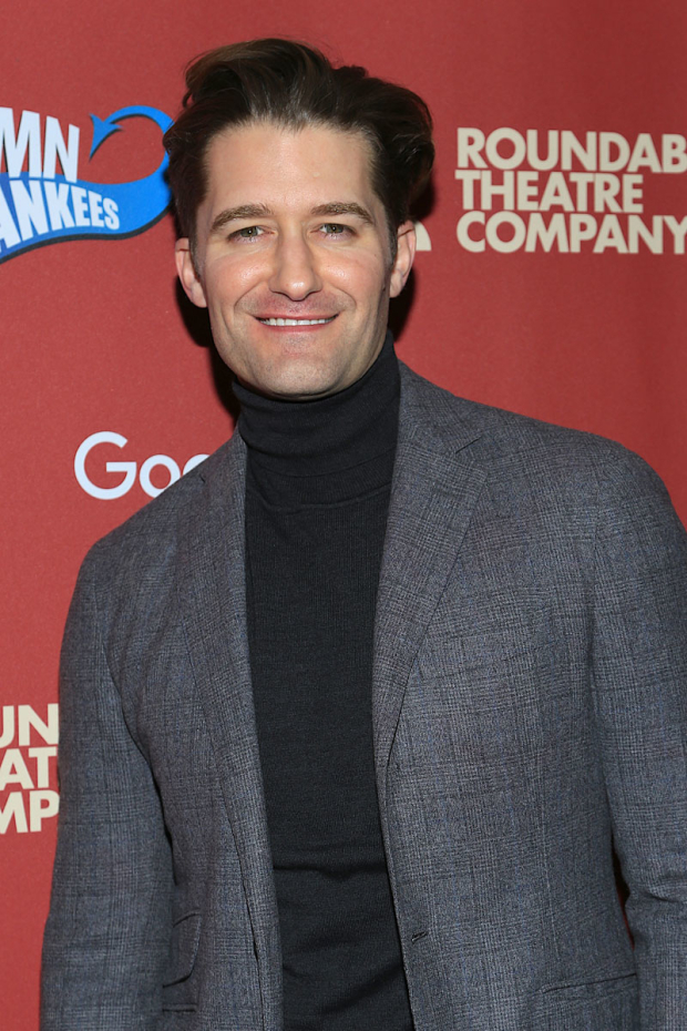 <p>Matthew Morrison starred as Joe Hardy.</p><br />(© Tricia Baron)