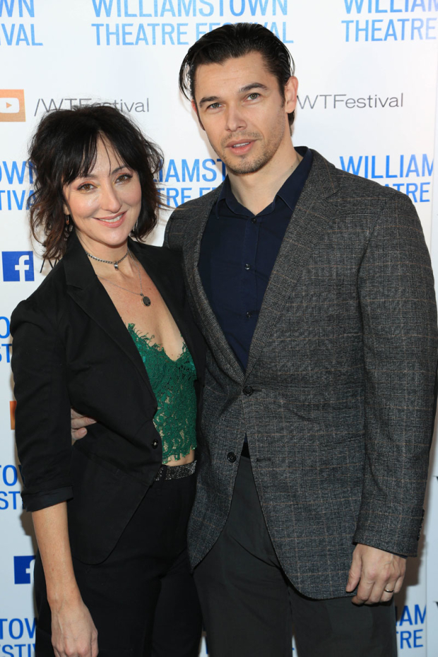 <p>Carmen Cusack and Paul Telfer were in attendance.</p><br />(© Tricia Baron)