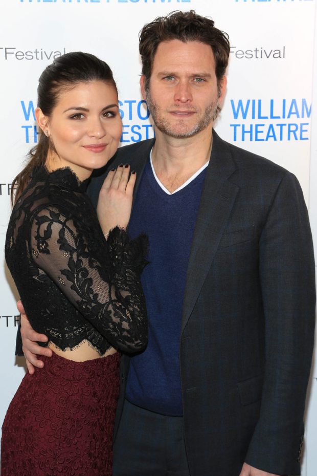 <p>Phillipa Soo and Steven Pasquale made appearances.</p><br />(© Tricia Baron)