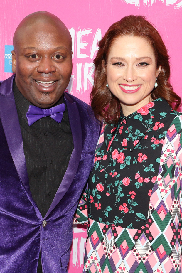 <p>Guests included Tituss Burgess and Ellie Kemper, who star on Tina Fey&#39&#x3B;s Netflix series <em>Unbreakable Kimmy Schmidt</em>.</p><br />(© David Gordon)
