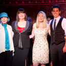 Marin Mazzie, Ann Hampton Callaway, Barbara Carroll, and Tony DeSare at 54 Below