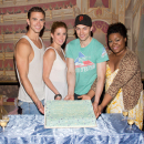 PHOTO FLASH: Ghost the Musical Celebrates 100th Performance