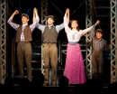 Corey Cott as Jack Kelly in Newsies